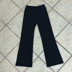 Capezio Black flare leg jazz/ dance pants, 8 - 10
